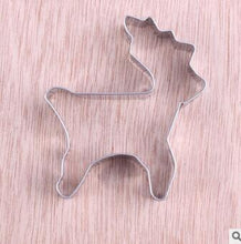 Load image into Gallery viewer, Stainless Steel Cookie Mold Elephant Shape Cake Fondant Mold Cookie Cutter Kitchen Accessories Cookie Tools Cupcake Decorator