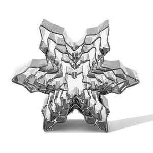 5Pcs/Set Christmas Snowflake Stainless Steel Cookie Cutters Cake Biscuit Moulds Fondant Icing Mold Kitchen Baking Tools