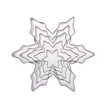 Load image into Gallery viewer, 5Pcs/Set Christmas Snowflake Stainless Steel Cookie Cutters Cake Biscuit Moulds Fondant Icing Mold Kitchen Baking Tools