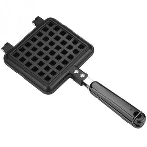 Household Waffle Bake Mold Kitchen Gas Non-Stick Waffle Maker Pan Mould Mold Press Plate Waffle Iron Baking Tools