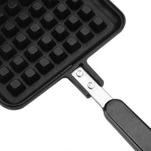 Load image into Gallery viewer, Household Waffle Bake Mold Kitchen Gas Non-Stick Waffle Maker Pan Mould Mold Press Plate Waffle Iron Baking Tools
