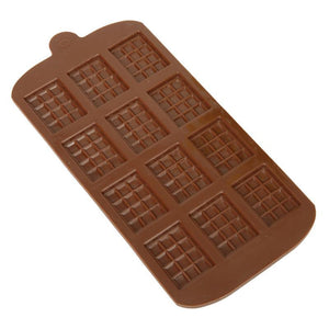 DIY 12 Grid Waffle Mold Creative Silicone Muffin Cake Waffle Mold Pastry Bakery Baking Tools Bakeware Cookies Mould