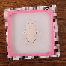 Load image into Gallery viewer, Cake Stencil Fixing Frames Decoration Printing Pennies Die Candy DIY Baking Mold 3D Printed Biscuit Cutter Cookies Tools