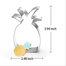 Load image into Gallery viewer, Creative Cookie Cutter Mold Flamingo Pineapple Shape Stainless Steel Biscuit Fondant Cake Moulds Cake Mold Baking kitchen Tools