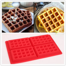 Load image into Gallery viewer, High Quality Silicone Waffle Mold For Kids Cake Waffle Mould Bakeware Nonstick Silicone Baking Mold Set Muffin Pastry Mold
