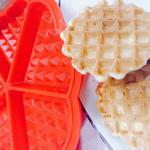 Baking mold Direct selling silica gel 5 core waffle mould waffle mould baking tool silicone mold.