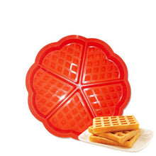 Load image into Gallery viewer, Baking mold Direct selling silica gel 5 core waffle mould waffle mould baking tool silicone mold.