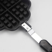Load image into Gallery viewer, Love Shape Kitchen Baking Waffle Mold DIY Baking Mold Non-stick Cake Mold Large Waffle Molds Waffle Baking Tray