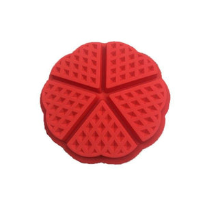 Non-stick Silicone Waffle Mold High-temperature Baking Set Kitchen Bakeware Cake Mould Waffle Makers for Oven