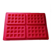 Load image into Gallery viewer, Non-stick Silicone Waffle Mold High-temperature Baking Set Kitchen Bakeware Cake Mould Waffle Makers for Oven