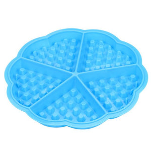 2018 hot sale Kitchen high quality Silicone Mini Round Waffles Pan Cake Baking Mould Mold Waffle Tray Hot Sell Outils de cuisson