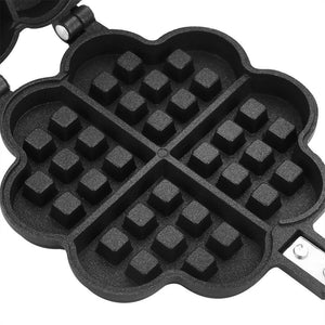 New Style Heart Shape Non-stick Waffle Maker Mold Baking Pan Making Tool Press Plate Pancake Machine Grill Tools For Baking
