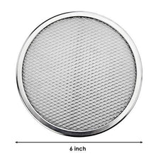 Load image into Gallery viewer, Latest Aluminum Flat Mesh Pizza Screen Round Baking Tray Metal Net Bakeware Kitchen Tools Pizza 6-22inch Bakeware Cookware