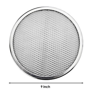 Latest Aluminum Flat Mesh Pizza Screen Round Baking Tray Metal Net Bakeware Kitchen Tools Pizza 6-22inch Bakeware Cookware