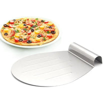Load image into Gallery viewer, HOT-1PCS Baking Tools Stainless Steel Transfer Cake Tray Moving Plate Bread Pizza Blade Shovel Bakeware Pastry Scraper