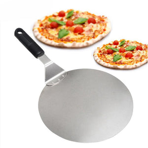 Useful Pizza Shovel Peel Cake Holder Tray Plate Shifter Devider Food Serving Stainless Steel Baking Tool Bakeware