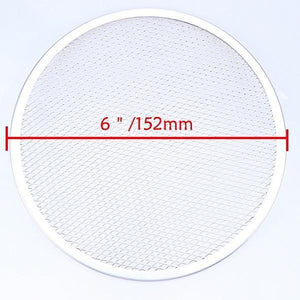 "WHISM 6-14"" Aluminum Pizza Tray Mesh Round Pizza Pancake Net Baking Pan Pizza Net Baking Accessories Screen Pastry Baking Tools"