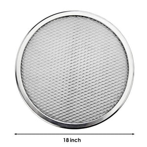 New Arrival 6-22inch Seamless Aluminum Pizza Screen Baking Tray Metal Net Bakeware Kitchen Tools Pizza Baking Tools