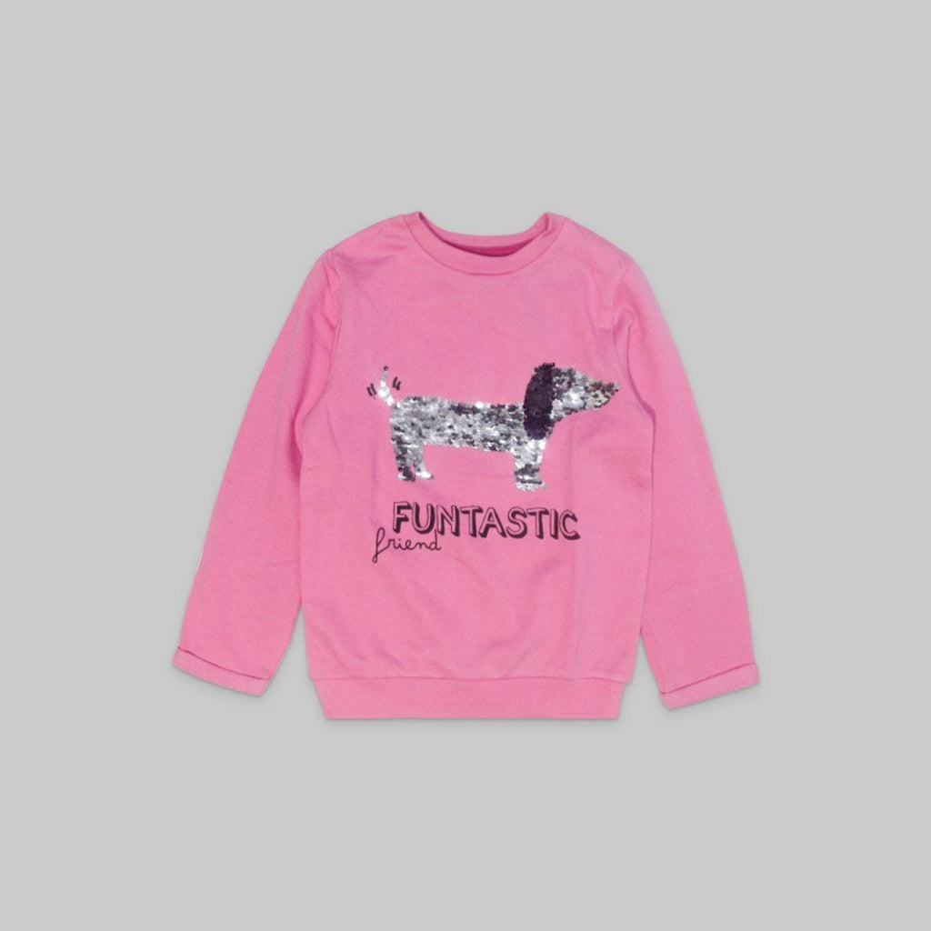 Little Kids Girl Sweat Shirt Iluvlittlepeople