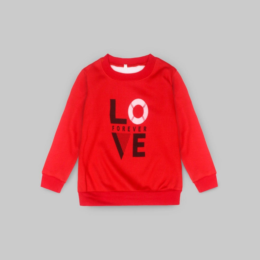 Love Forever Sweat Shirt Iluvlittlepeople