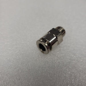 "PC-1/8""-1/4""  straight  push lock fitting. PN: 251001"