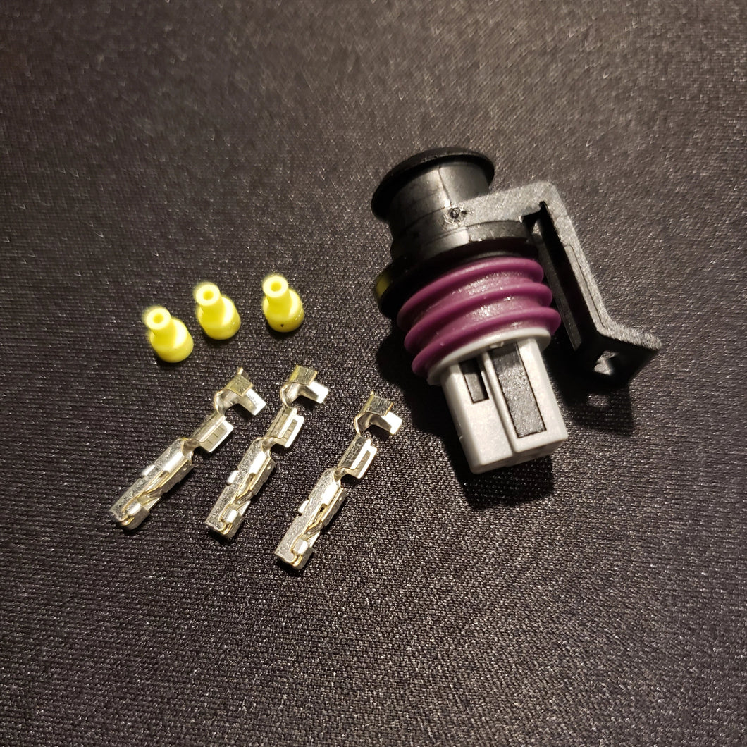 Pressure Sensor 3 Pin Connector Kit