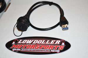USB Bulkhead connector and cable for ECU