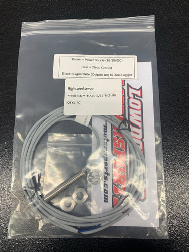 LDM-HALL-5/16-NO-NP Speed sensor for Ultra case PN: 1520156