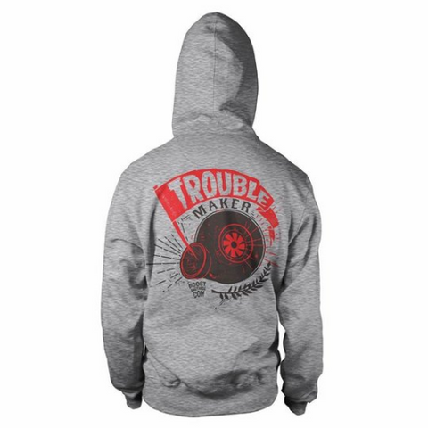 "Hoodie ""Troublemaker"" by Boost Bastards"