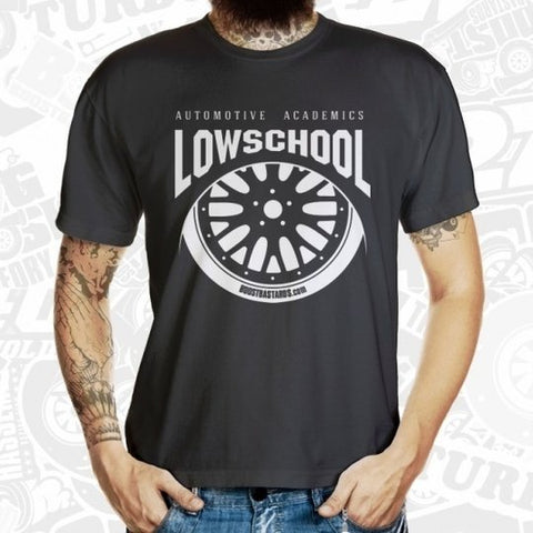 "T-Shirt ""LOWSCHOOL"" by Boost Bastards"