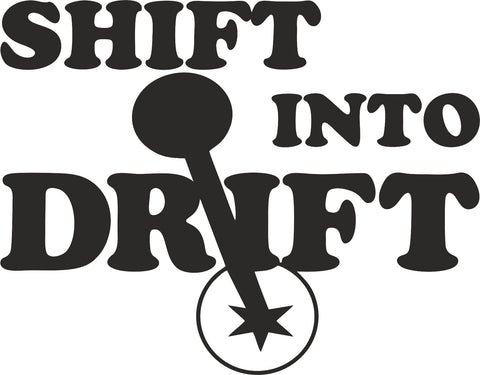 Shift Into Drift 14cmx11cm