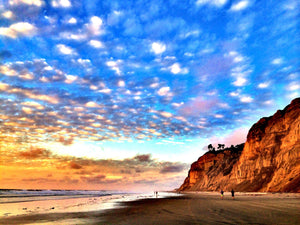 Rewards of the Road Less Traveled - Black's Beach, La Jolla, California