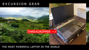 The Most Powerful Laptop in the World | The 16-Core / 32-Thread Threadripper Laptop
