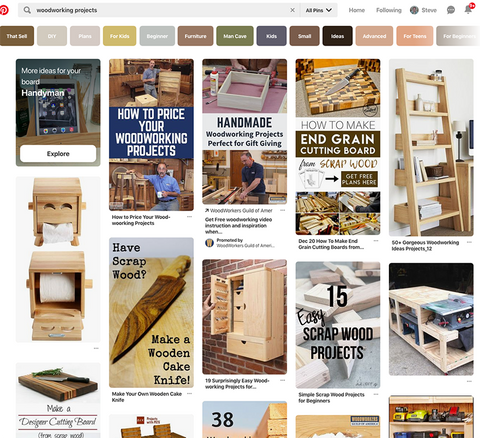 Pinterest Woodworking Projects