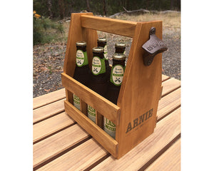 Personalised Beer Caddy, Beer Lover Gift, Christmas Gift