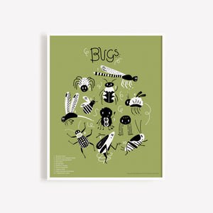 Protect the Bugs Print