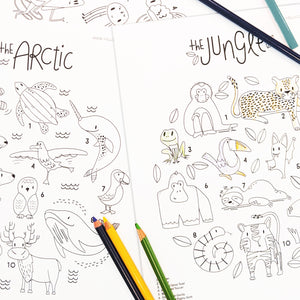 Endangered Coloring Pages