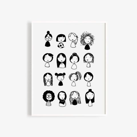 Strong Ladies Print