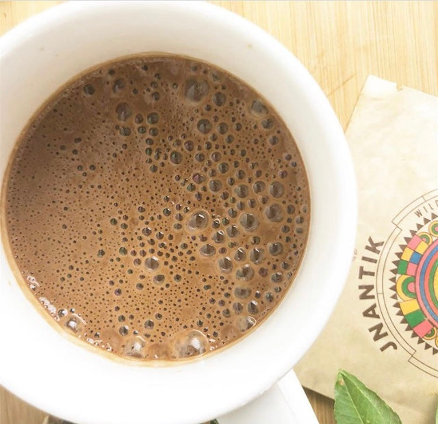 Jnantik Chai Latte, an Immune Boosting, Caffeine-Free Alternative to Traditional Chai