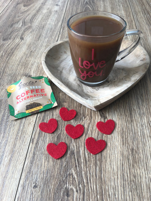 Feel the LOVE with these Valentine Lattes