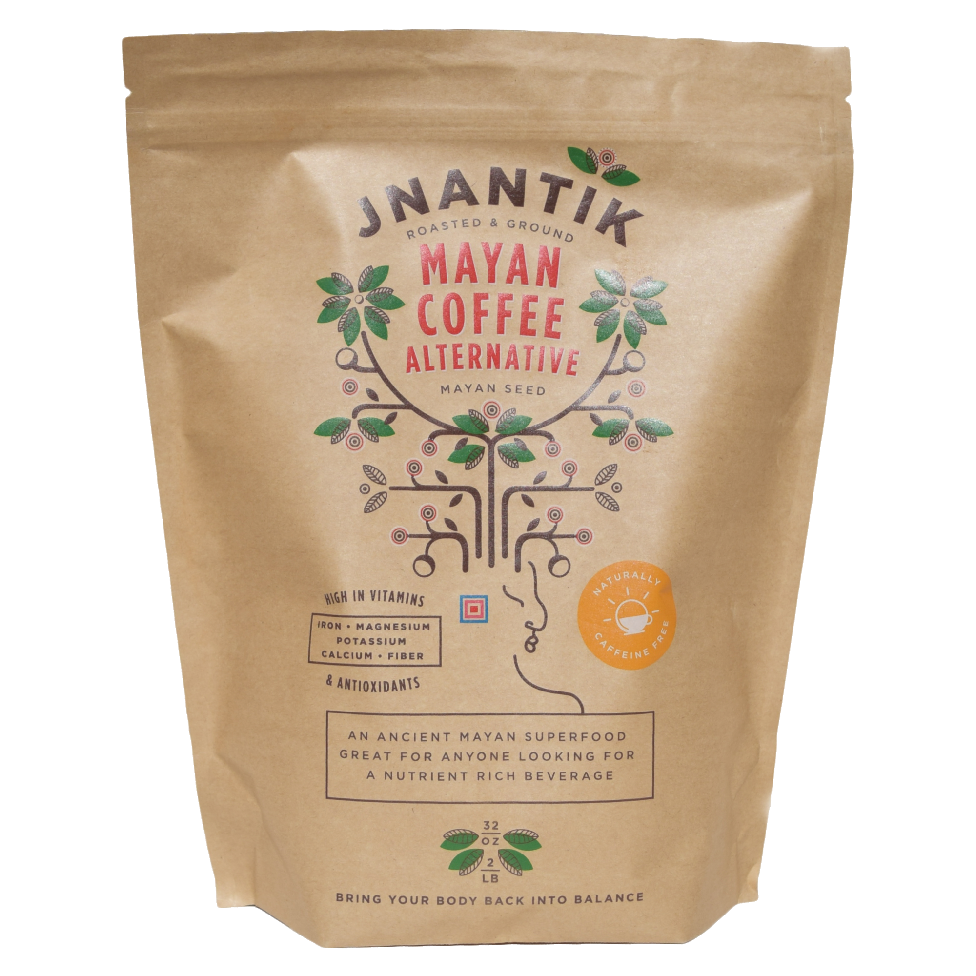 Jnantik Maya Seed Coffee Alternative 2lb bag