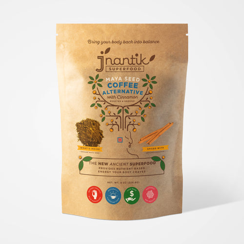 Jnantik Maya Seed Coffee Alternative with Cinnamon