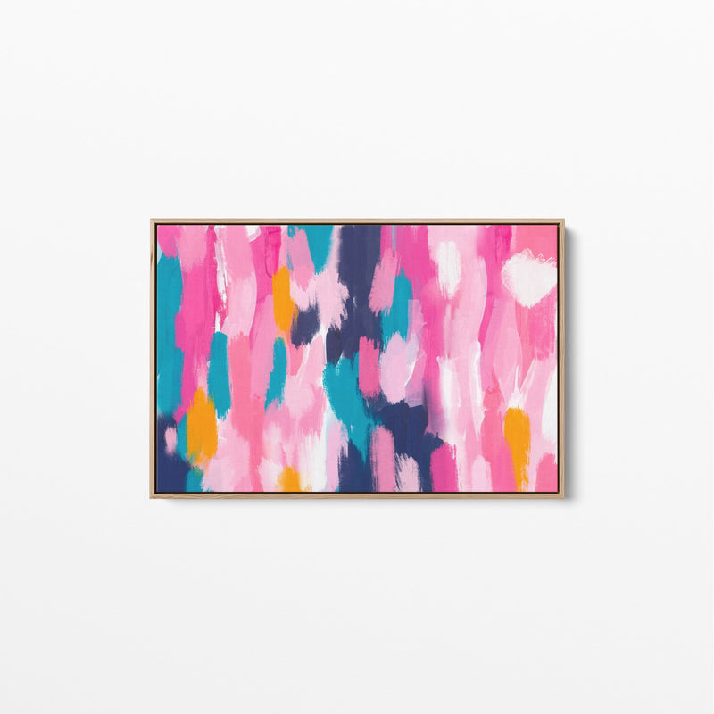 Days Like These - Abstract Original Stretched Canvas Wall Art Print