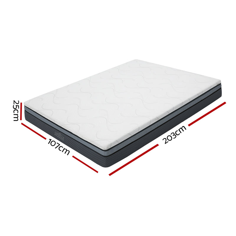 KING SINGLE SIze - Cool Gel Memory Foam Mattress