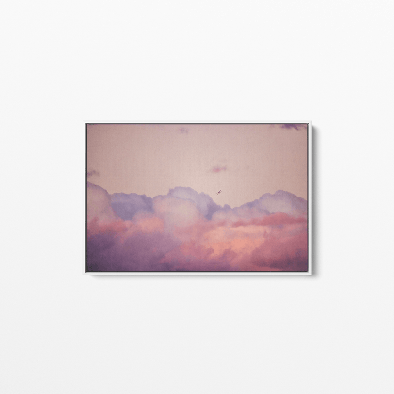 Flying High - Framed Canvas Wall Art Print
