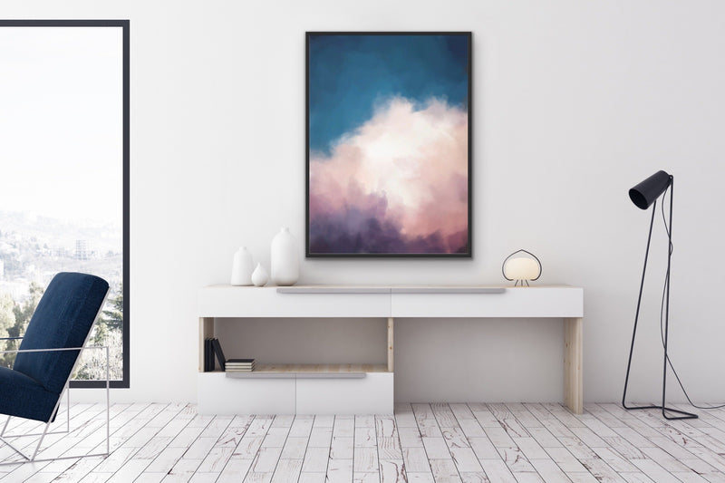 Cloudy Sky Original Wall Art Print