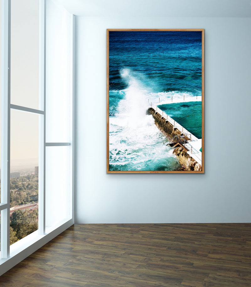 Bondi Ice Bergs Swimming Pool Photographic Print