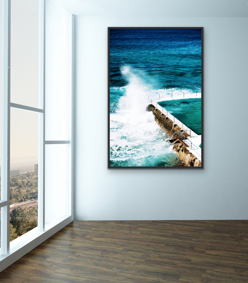 Bondi Icebergs Swimming Pool Wall Art Print