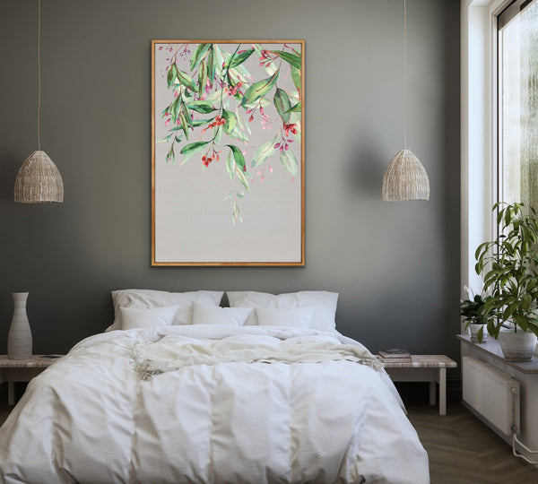 Natural Eucalyptus Wall Art Print