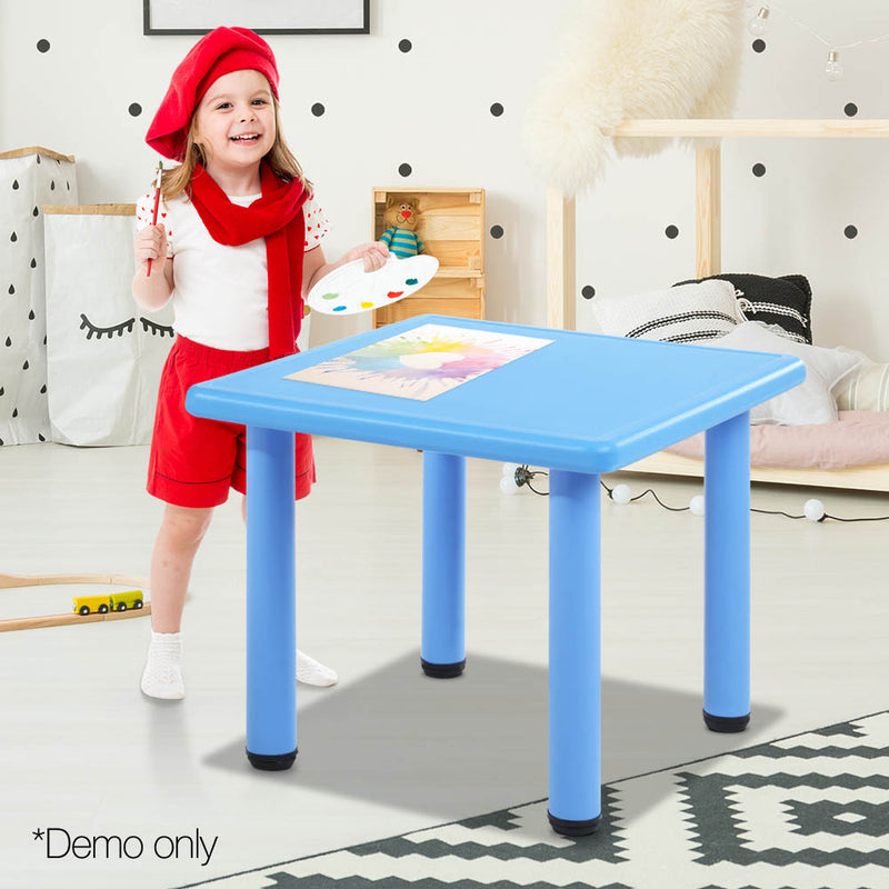 Kids Table Desk - Plastic Blue